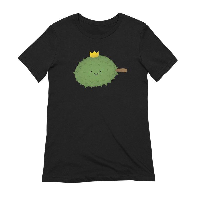Durian, King of Fruits! Women's Extra Soft T-Shirt by Filipeanut Sari-Sari Store
