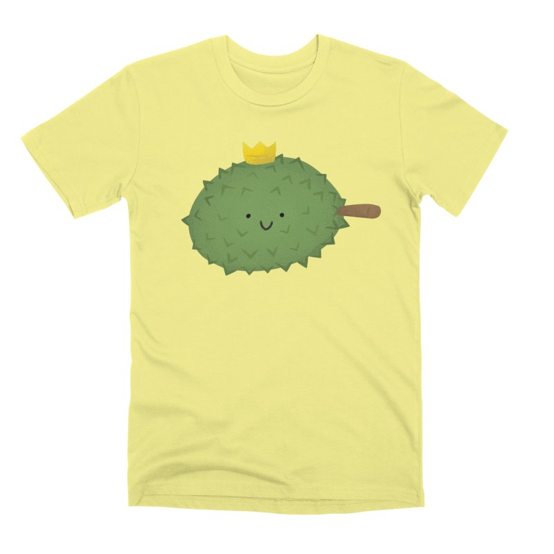 Durian, King of Fruits! Men's Premium T-Shirt by Filipeanut Sari-Sari Store
