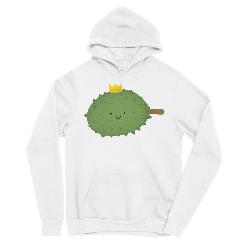 Durian, King of Fruits! Women's Sponge Fleece Pullover Hoody by Filipeanut Sari-Sari Store