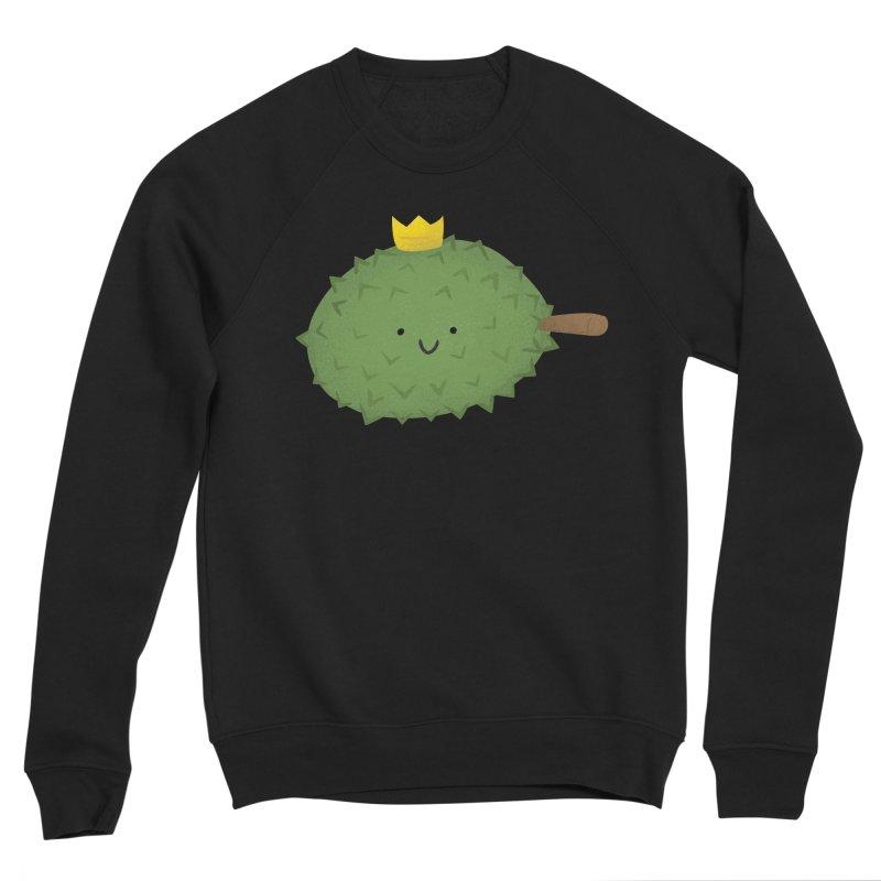 Durian, King of Fruits! Men's Sponge Fleece Sweatshirt by Filipeanut Sari-Sari Store