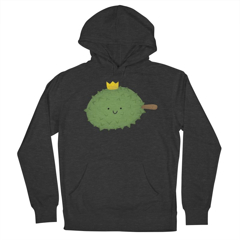 Durian, King of Fruits! Women's French Terry Pullover Hoody by Filipeanut Sari-Sari Store