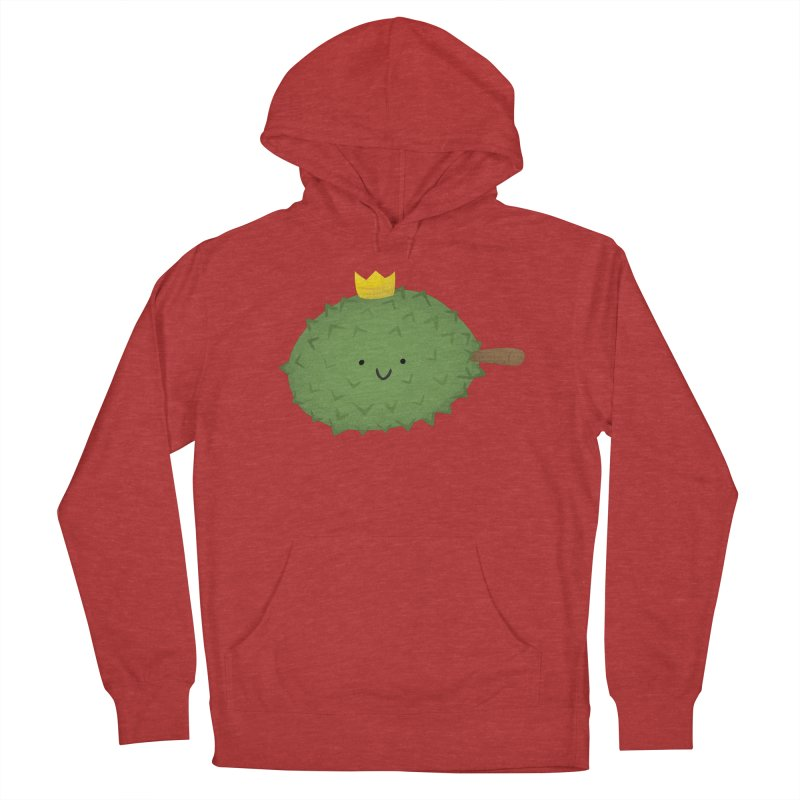 Durian, King of Fruits! Men's French Terry Pullover Hoody by Filipeanut Sari-Sari Store