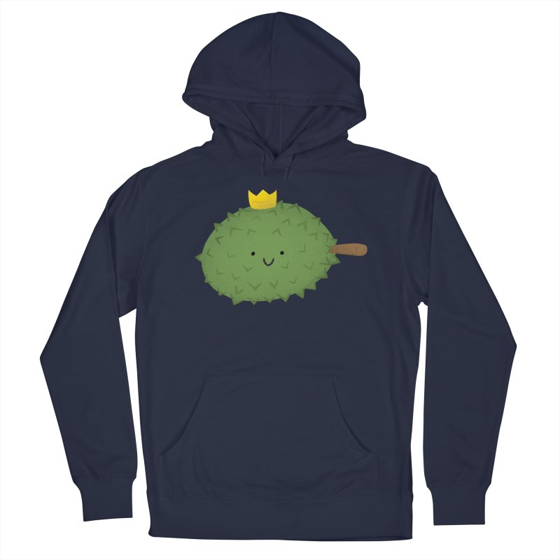 Durian, King of Fruits! Men's Pullover Hoody by Filipeanut Sari-Sari Store