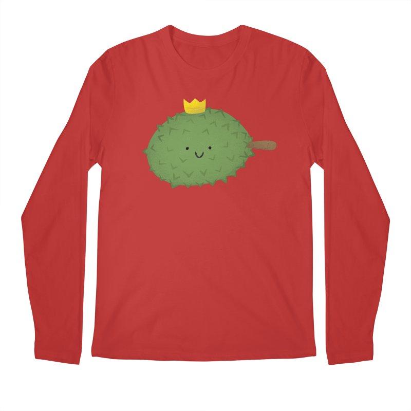 Durian, King of Fruits! Men's Longsleeve T-Shirt by Filipeanut Sari-Sari Store