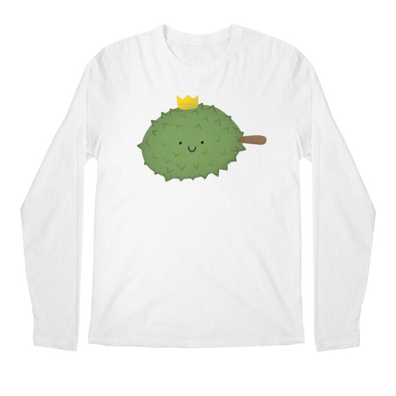 Durian, King of Fruits! Men's Regular Longsleeve T-Shirt by Filipeanut Sari-Sari Store