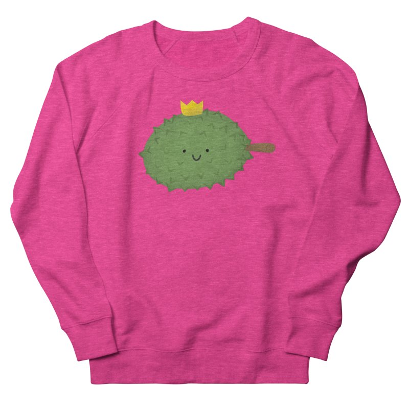 Durian, King of Fruits! Women's Sweatshirt by Filipeanut Sari-Sari Store
