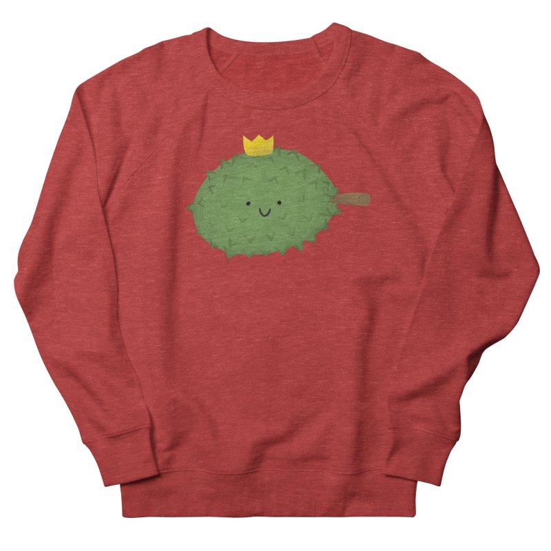 Durian, King of Fruits! Men's French Terry Sweatshirt by Filipeanut Sari-Sari Store