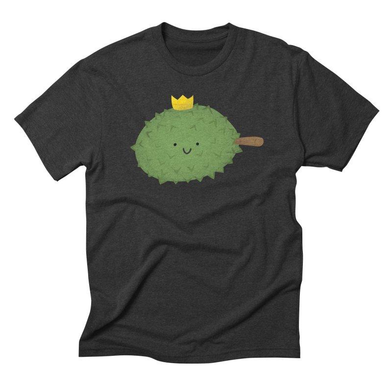 Durian, King of Fruits! Men's Triblend T-Shirt by Filipeanut Sari-Sari Store