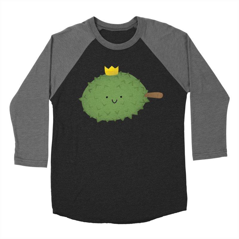 Durian, King of Fruits! Women's Baseball Triblend Longsleeve T-Shirt by Filipeanut Sari-Sari Store