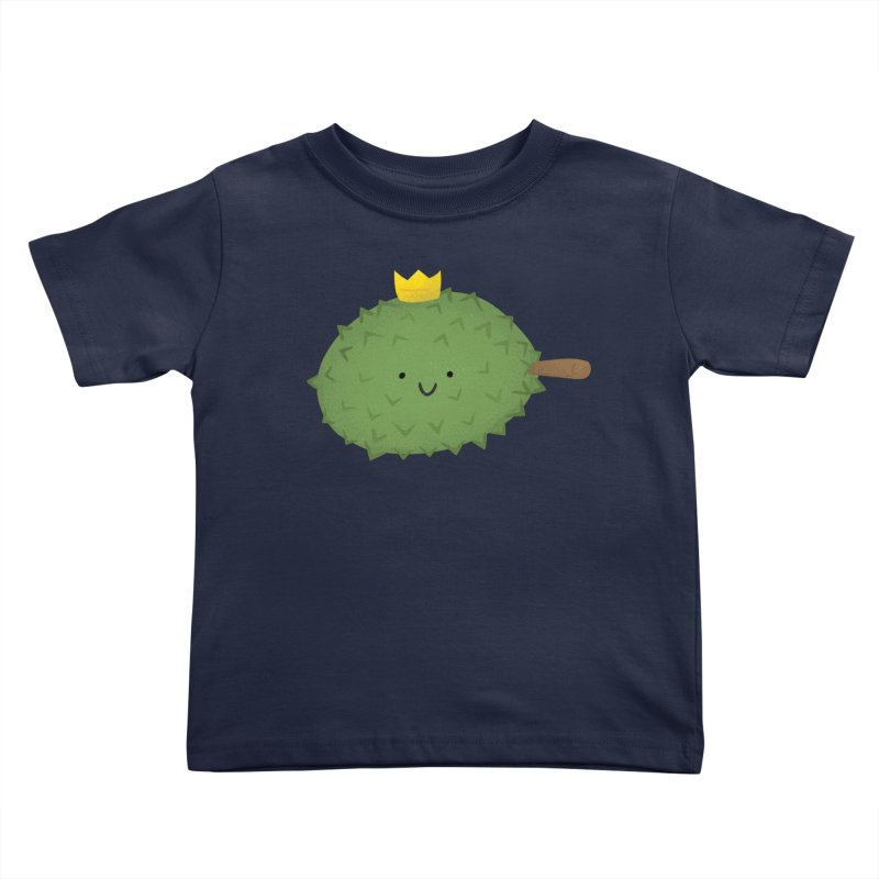 Durian, King of Fruits! Kids Toddler T-Shirt by Filipeanut Sari-Sari Store