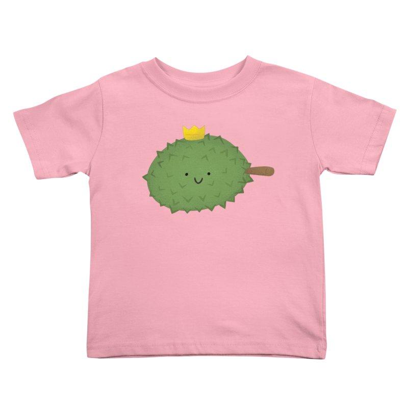 Durian, King of Fruits! Kids Toddler T-Shirt by Filipeanut Sari-Sari Store