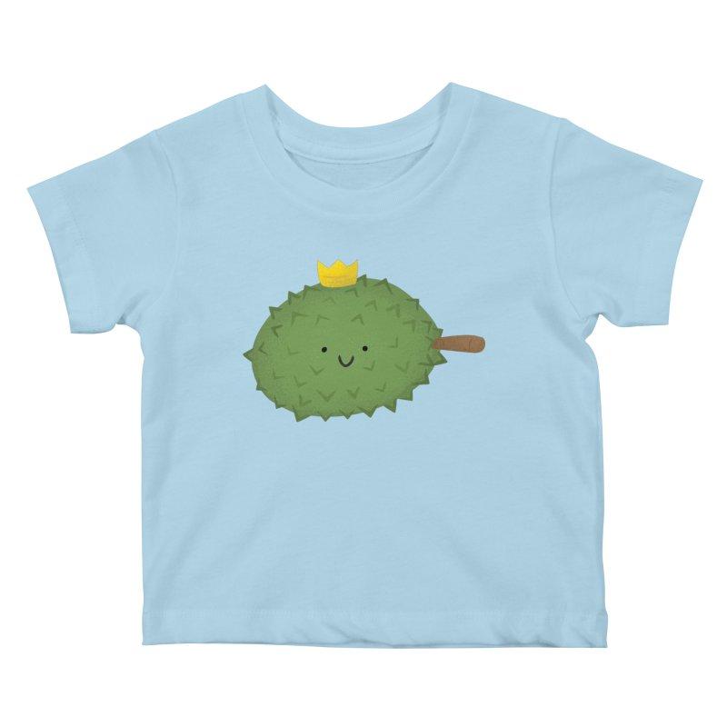 Durian, King of Fruits! Kids Baby T-Shirt by Filipeanut Sari-Sari Store
