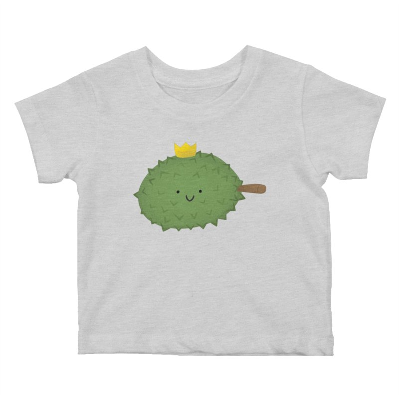 Durian, King of Fruits! Kids Baby T-Shirt by Filipeanut Sari-Sari Store