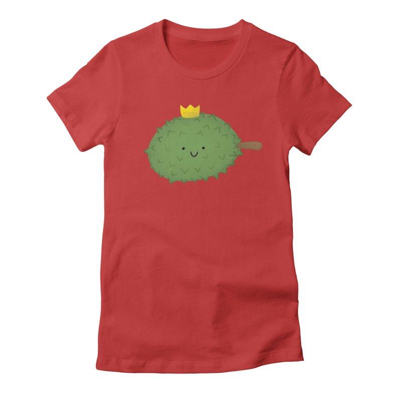 Durian, King of Fruits! Women's T-Shirt by Filipeanut Sari-Sari Store