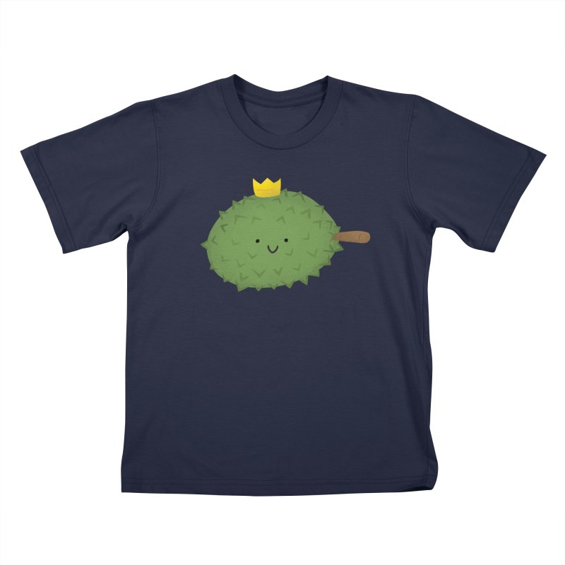 Durian, King of Fruits! Kids T-Shirt by Filipeanut Sari-Sari Store