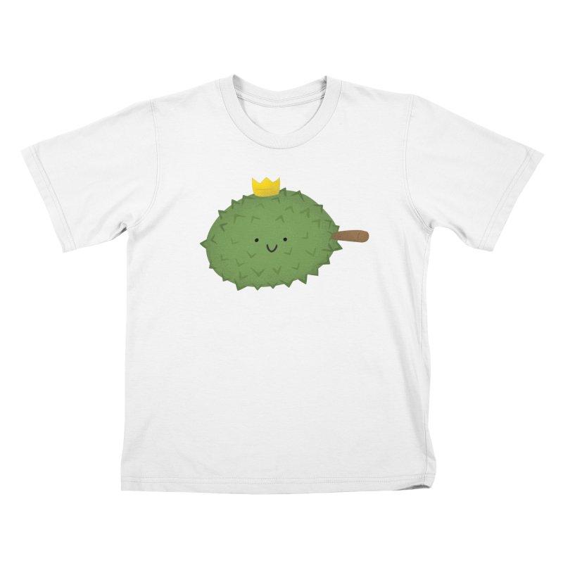 Durian, King of Fruits! Kids T-Shirt by Filipeanut Sari-Sari Store