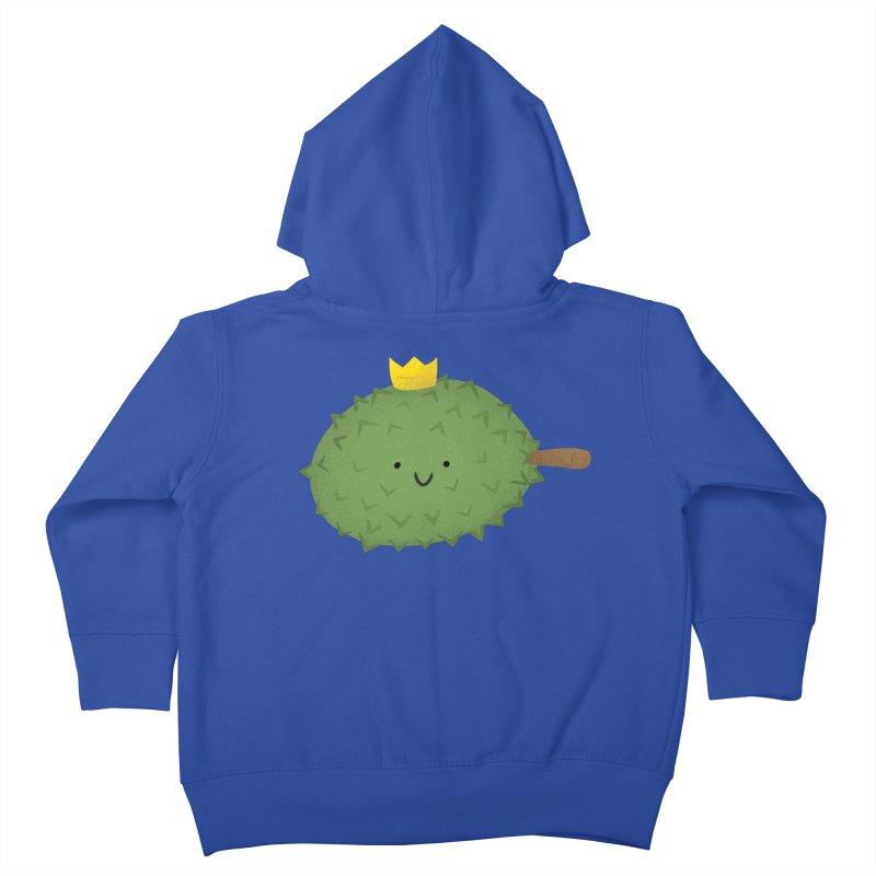 Durian, King of Fruits! Kids Toddler Zip-Up Hoody by Filipeanut Sari-Sari Store