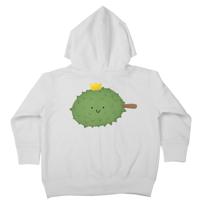 Durian, King of Fruits! Kids Toddler Zip-Up Hoody by Filipeanut Sari-Sari Store