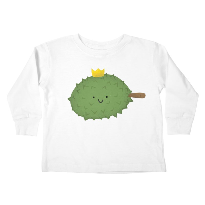 Durian, King of Fruits! Kids Toddler Longsleeve T-Shirt by Filipeanut Sari-Sari Store