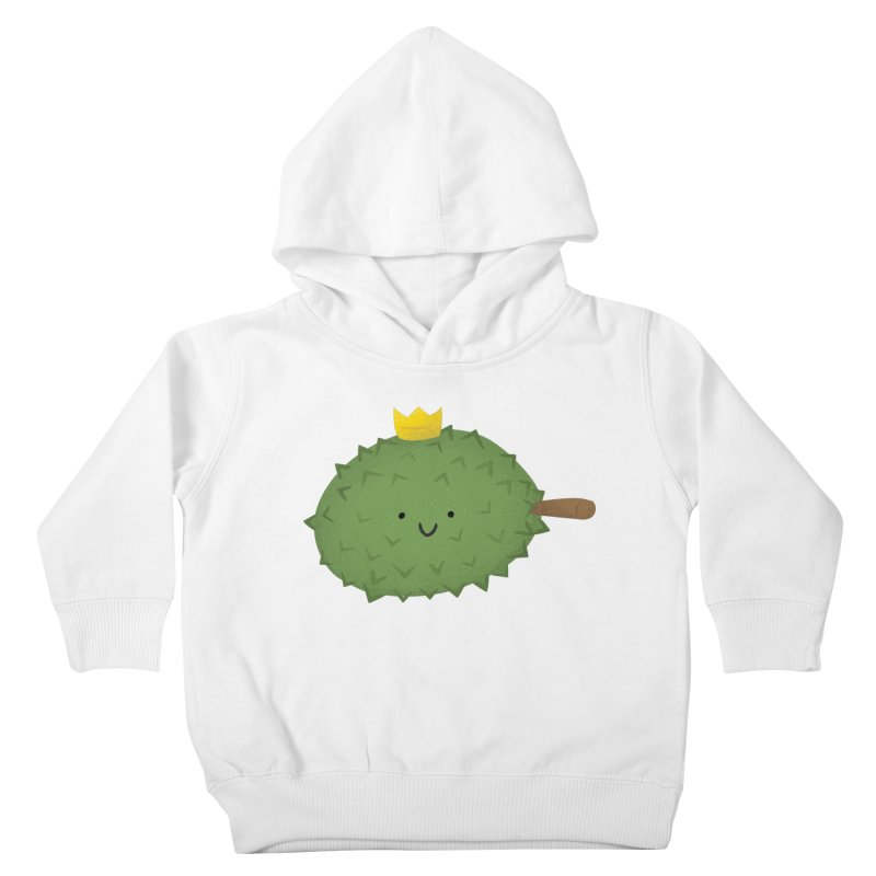 Durian, King of Fruits! Kids Toddler Pullover Hoody by Filipeanut Sari-Sari Store