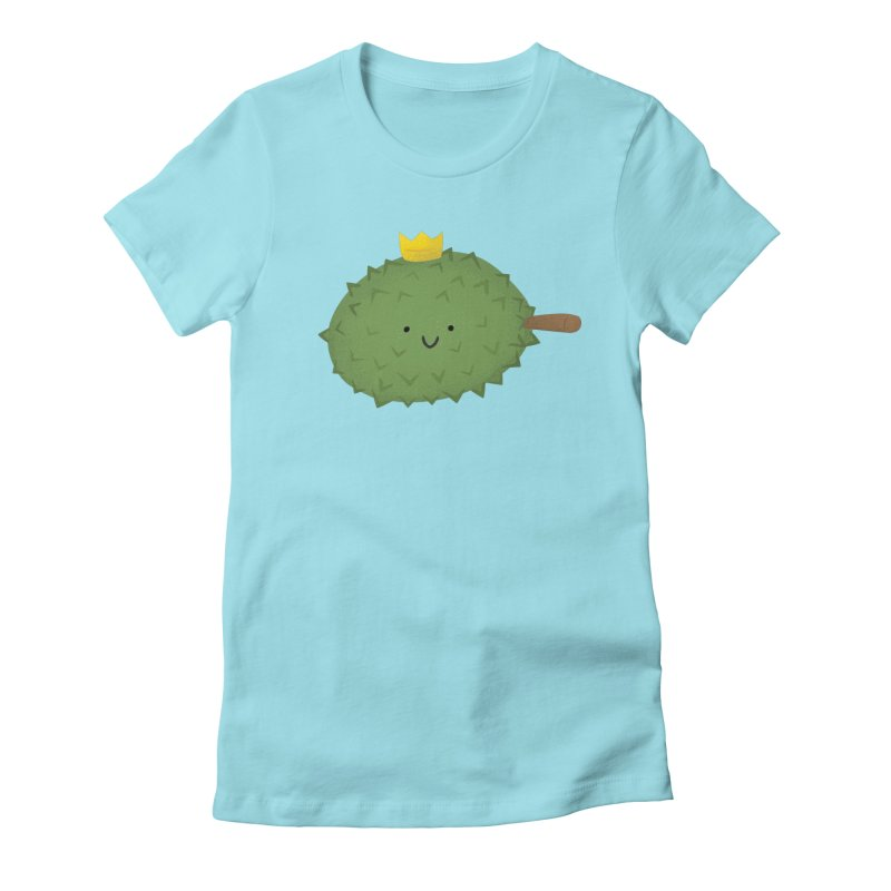 Durian, King of Fruits! Women's T-Shirt by Filipeanut Sari-Sari Store