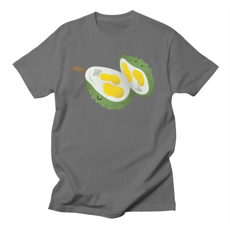Durian, open wide! Men's T-Shirt by Filipeanut Sari-Sari Store