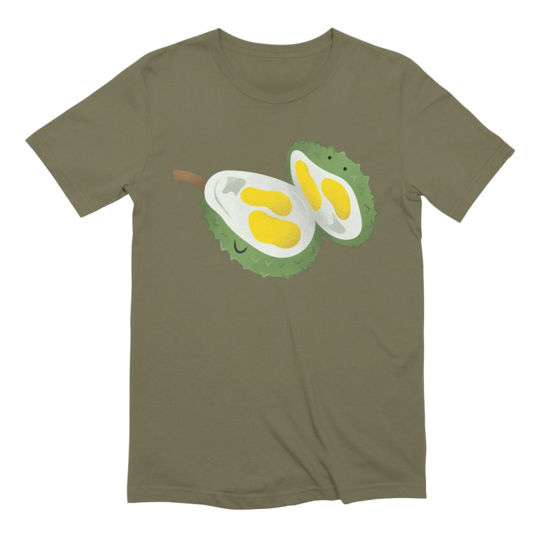 Durian, open wide! Men's Extra Soft T-Shirt by Filipeanut Sari-Sari Store