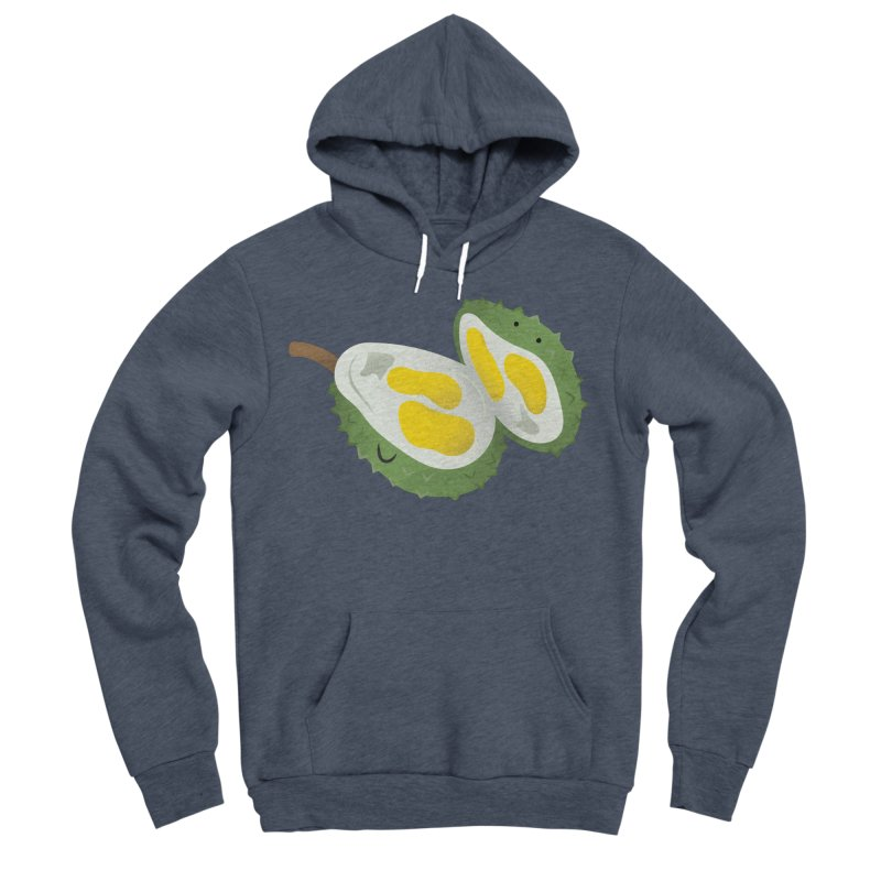 Durian, open wide! Women's Sponge Fleece Pullover Hoody by Filipeanut Sari-Sari Store
