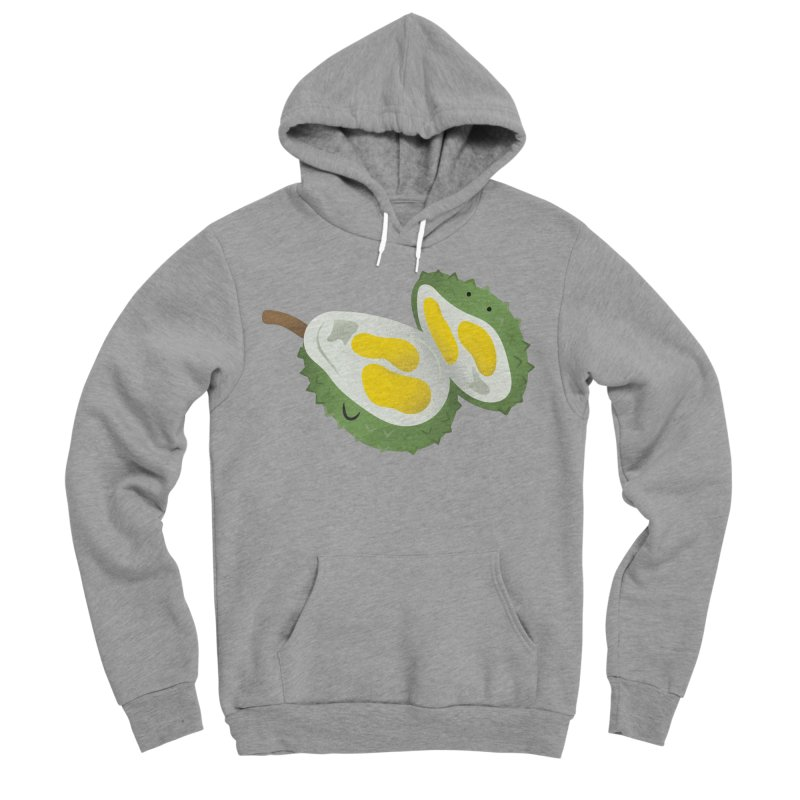 Durian, open wide! Men's Sponge Fleece Pullover Hoody by Filipeanut Sari-Sari Store