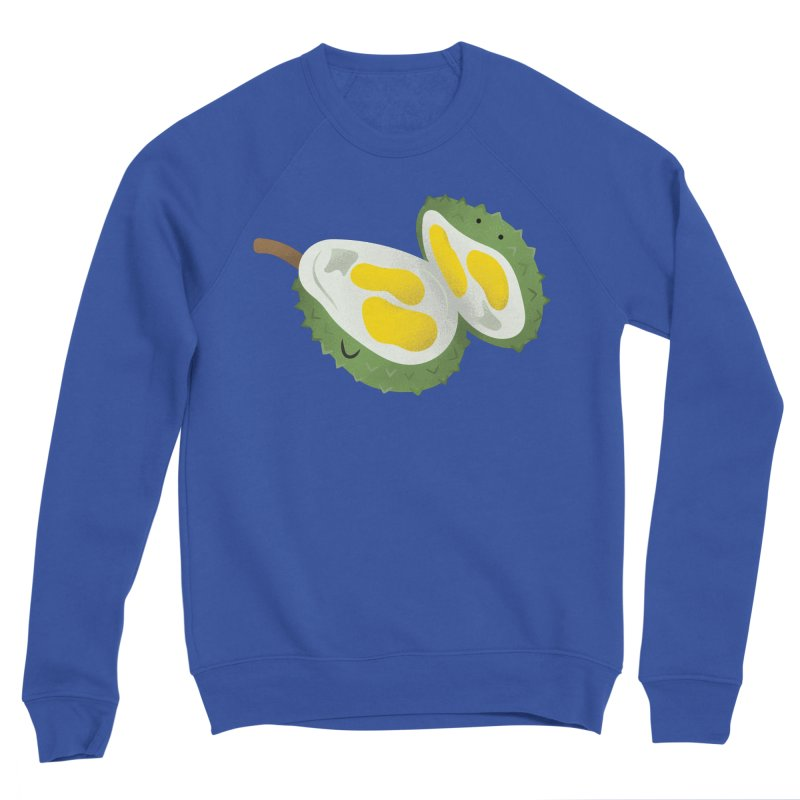 Durian, open wide! Men's Sweatshirt by Filipeanut Sari-Sari Store