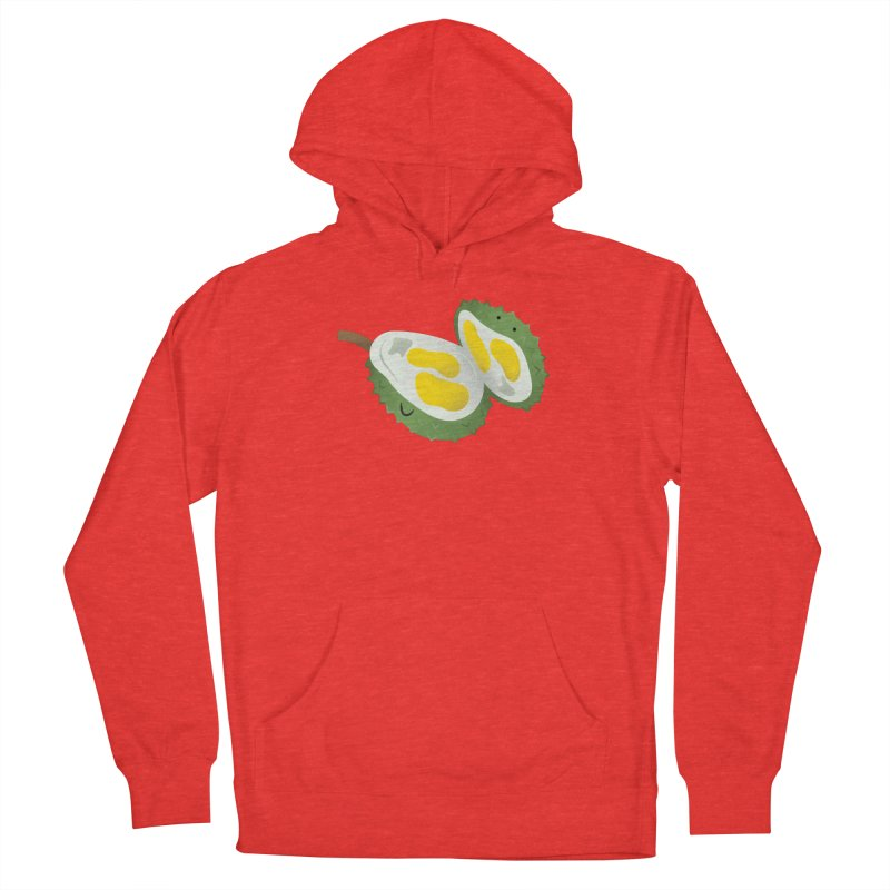 Durian, open wide! Women's Pullover Hoody by Filipeanut Sari-Sari Store