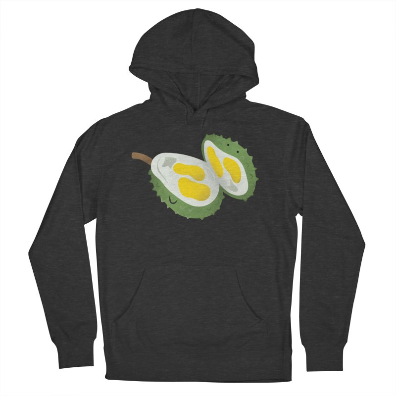 Durian, open wide! Women's French Terry Pullover Hoody by Filipeanut Sari-Sari Store