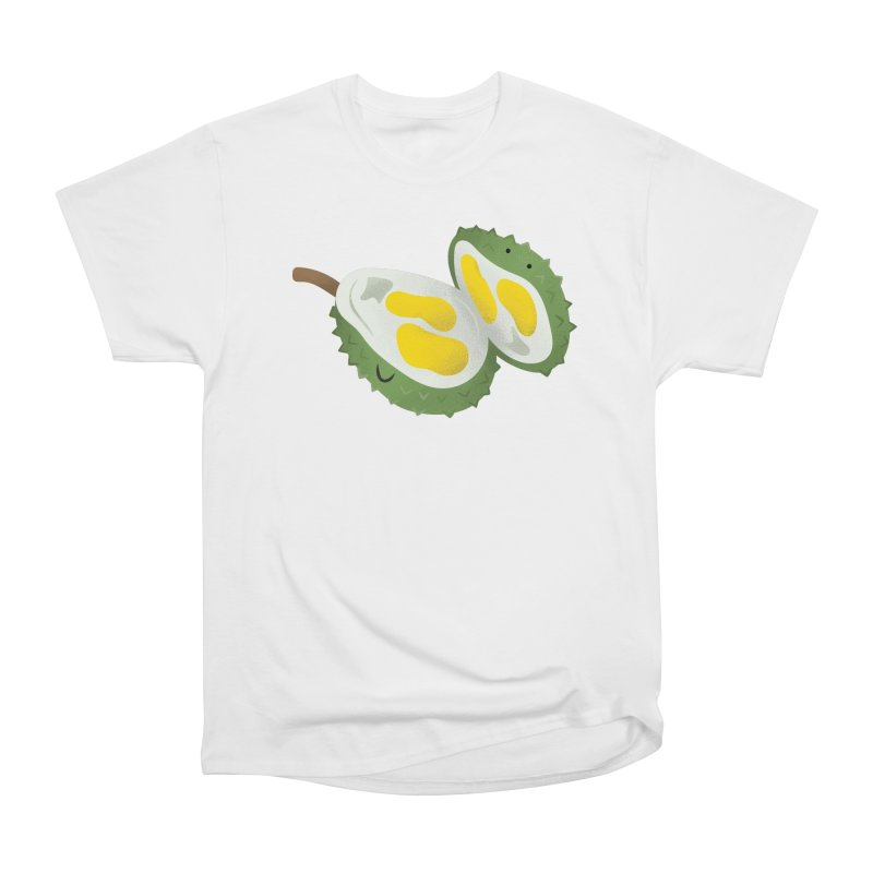 Durian, open wide! Women's Heavyweight Unisex T-Shirt by Filipeanut Sari-Sari Store