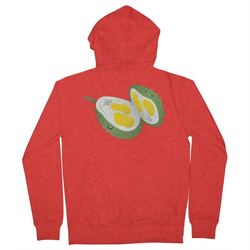 Durian, open wide! Women's Zip-Up Hoody by Filipeanut Sari-Sari Store