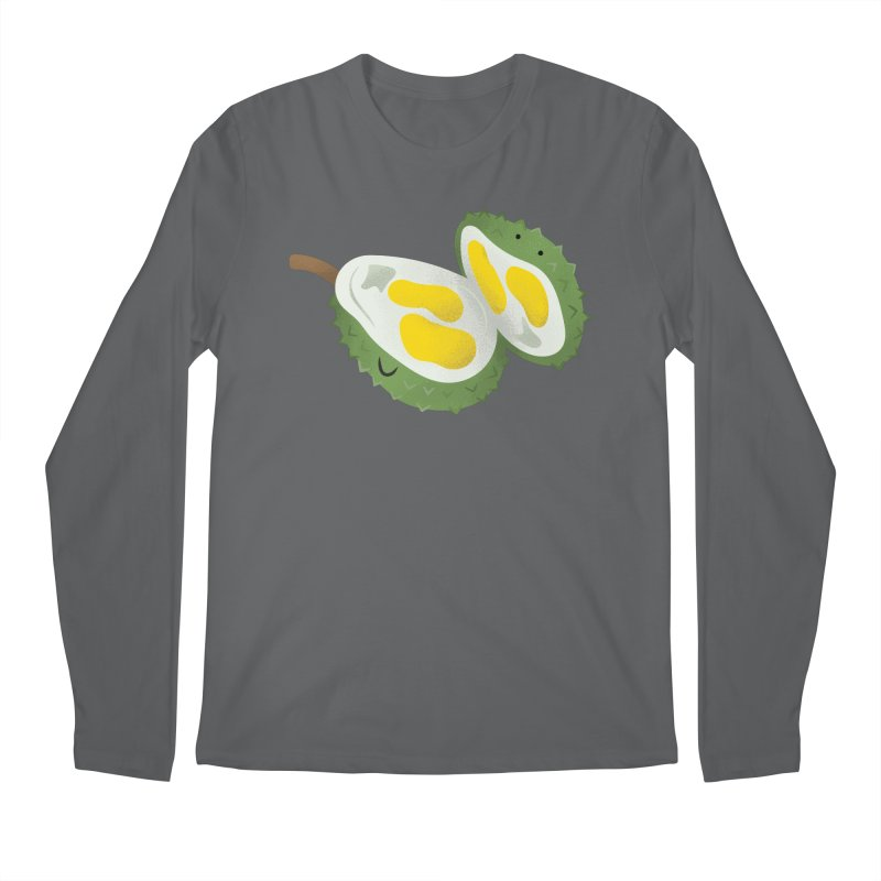 Durian, open wide! Men's Longsleeve T-Shirt by Filipeanut Sari-Sari Store