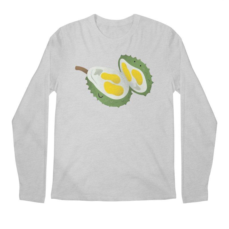 Durian, open wide! Men's Longsleeve T-Shirt by Filipeanut Sari-Sari Store