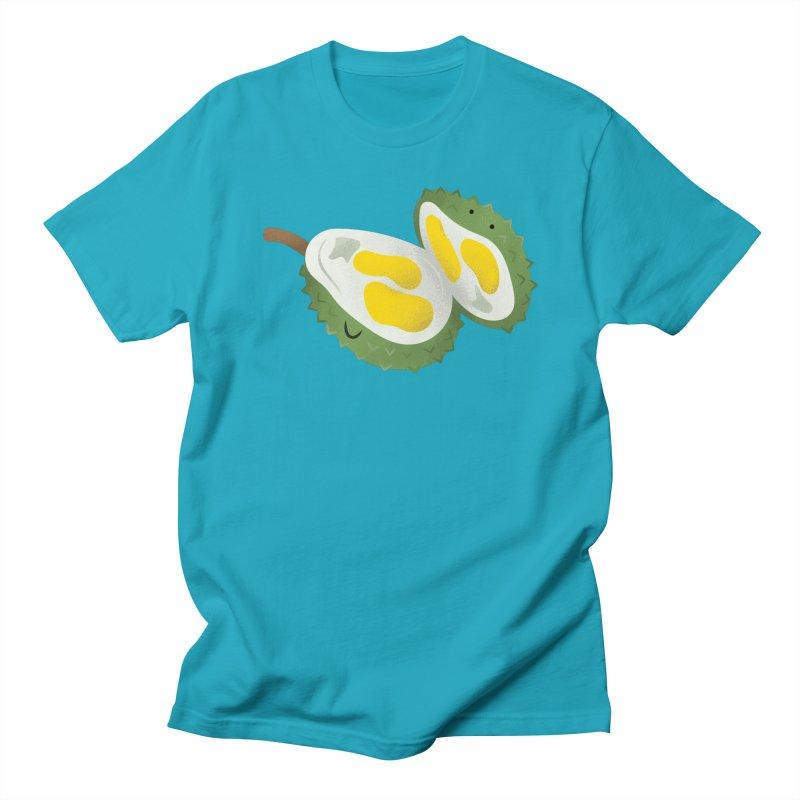 Durian, open wide! Men's Regular T-Shirt by Filipeanut Sari-Sari Store