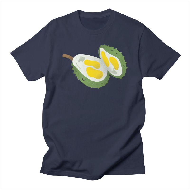 Durian, open wide! Men's T-Shirt by Filipeanut Sari-Sari Store