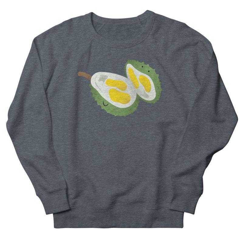 Durian, open wide! Women's Sweatshirt by Filipeanut Sari-Sari Store
