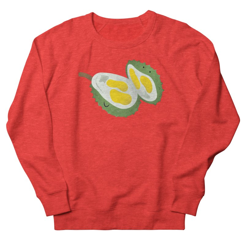 Durian, open wide! Women's Sweatshirt by Filipeanut Sari-Sari Store