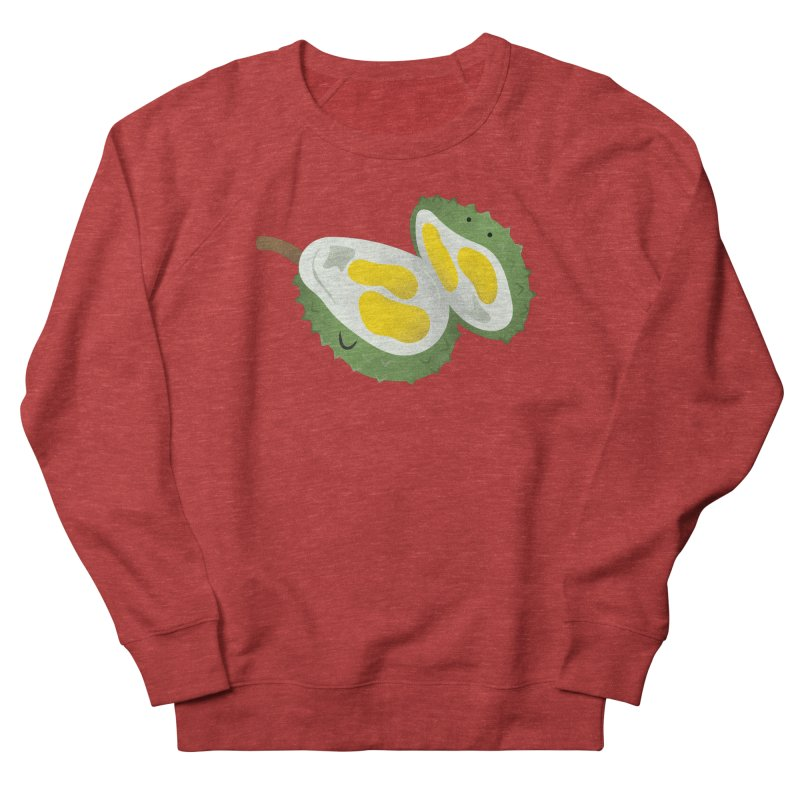 Durian, open wide! Women's French Terry Sweatshirt by Filipeanut Sari-Sari Store