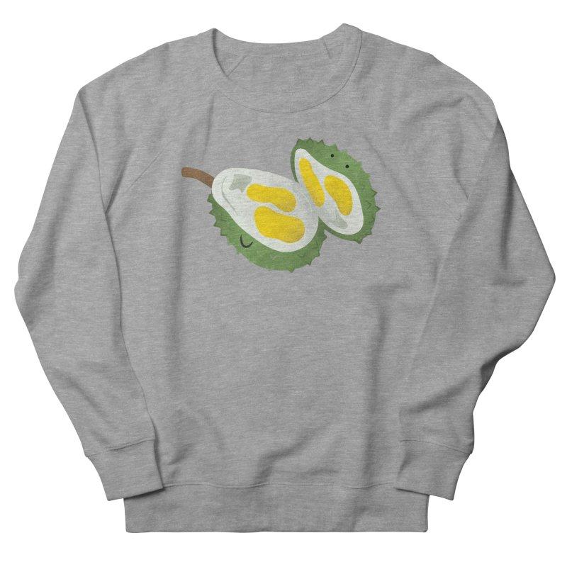 Durian, open wide! Men's French Terry Sweatshirt by Filipeanut Sari-Sari Store