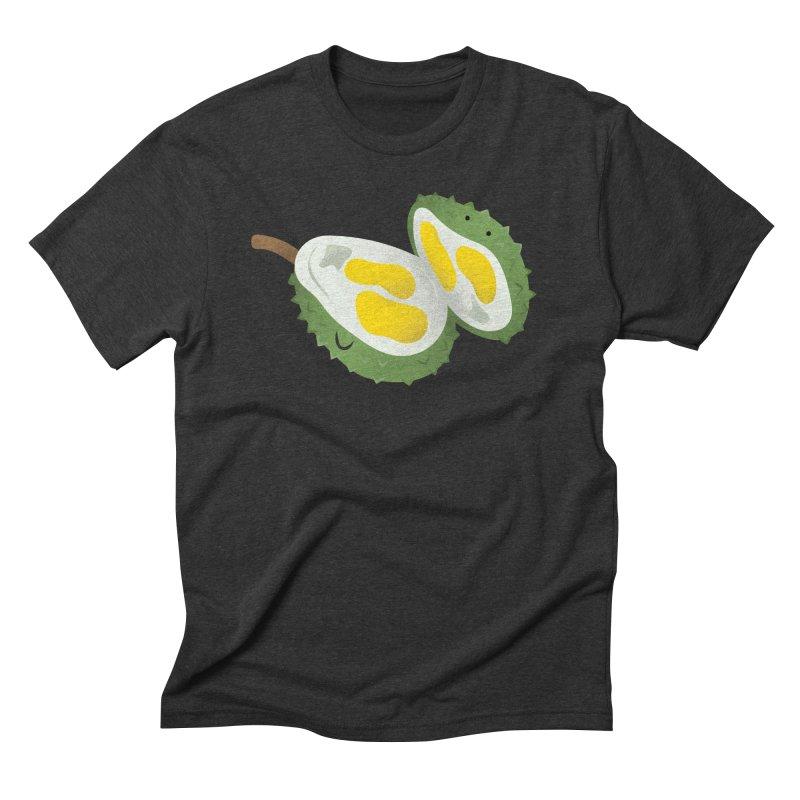 Durian, open wide! Men's Triblend T-Shirt by Filipeanut Sari-Sari Store