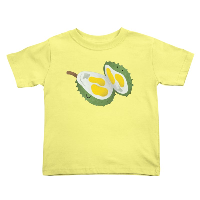 Durian, open wide! Kids Toddler T-Shirt by Filipeanut Sari-Sari Store