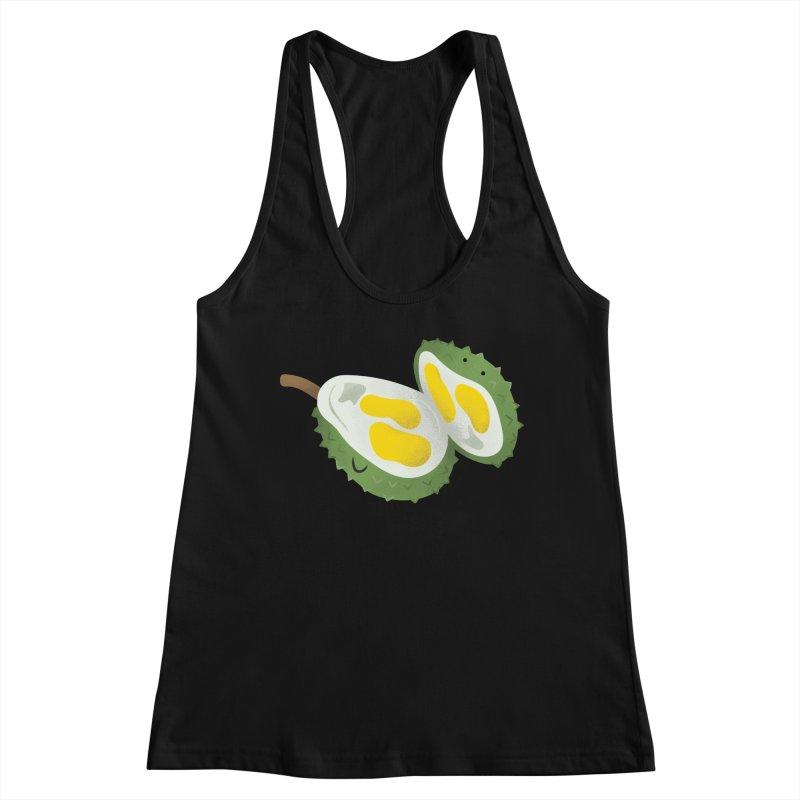 Durian, open wide! Women's Tank by Filipeanut Sari-Sari Store