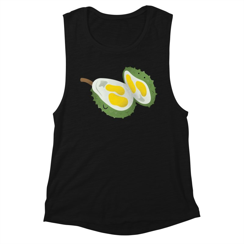 Durian, open wide! Women's Tank by Filipeanut Sari-Sari Store