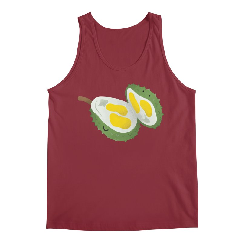 Durian, open wide! Men's Tank by Filipeanut Sari-Sari Store