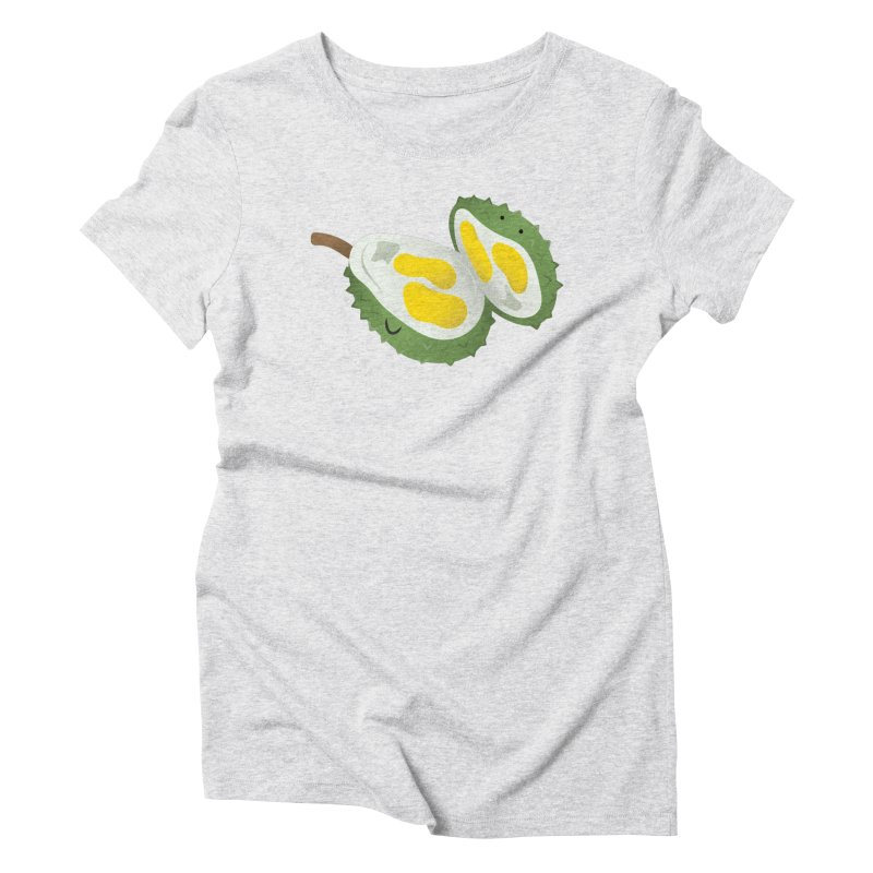 Durian, open wide! Women's T-Shirt by Filipeanut Sari-Sari Store