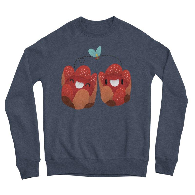 Rafflesia consueloae Men's Sponge Fleece Sweatshirt by Filipeanut Sari-Sari Store