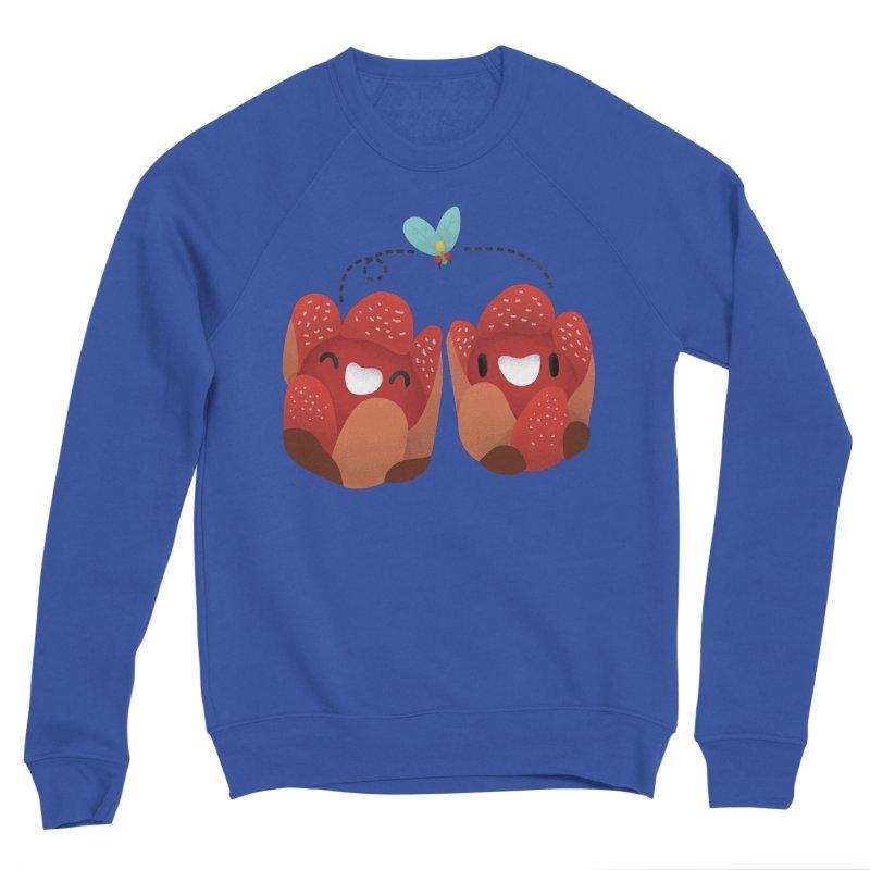 Rafflesia consueloae Women's Sponge Fleece Sweatshirt by Filipeanut Sari-Sari Store